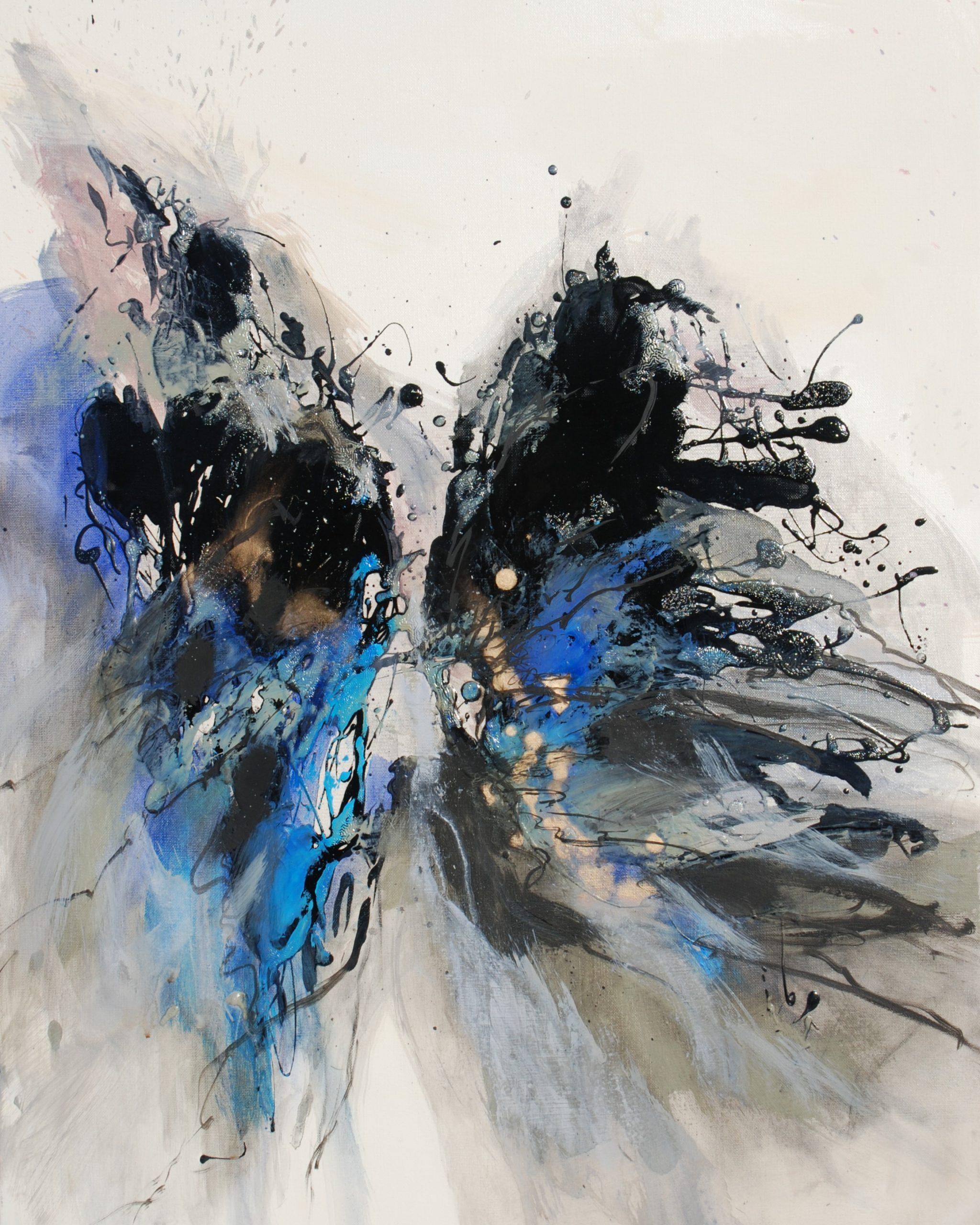 Souche  II    huile sur toile 92x73cm