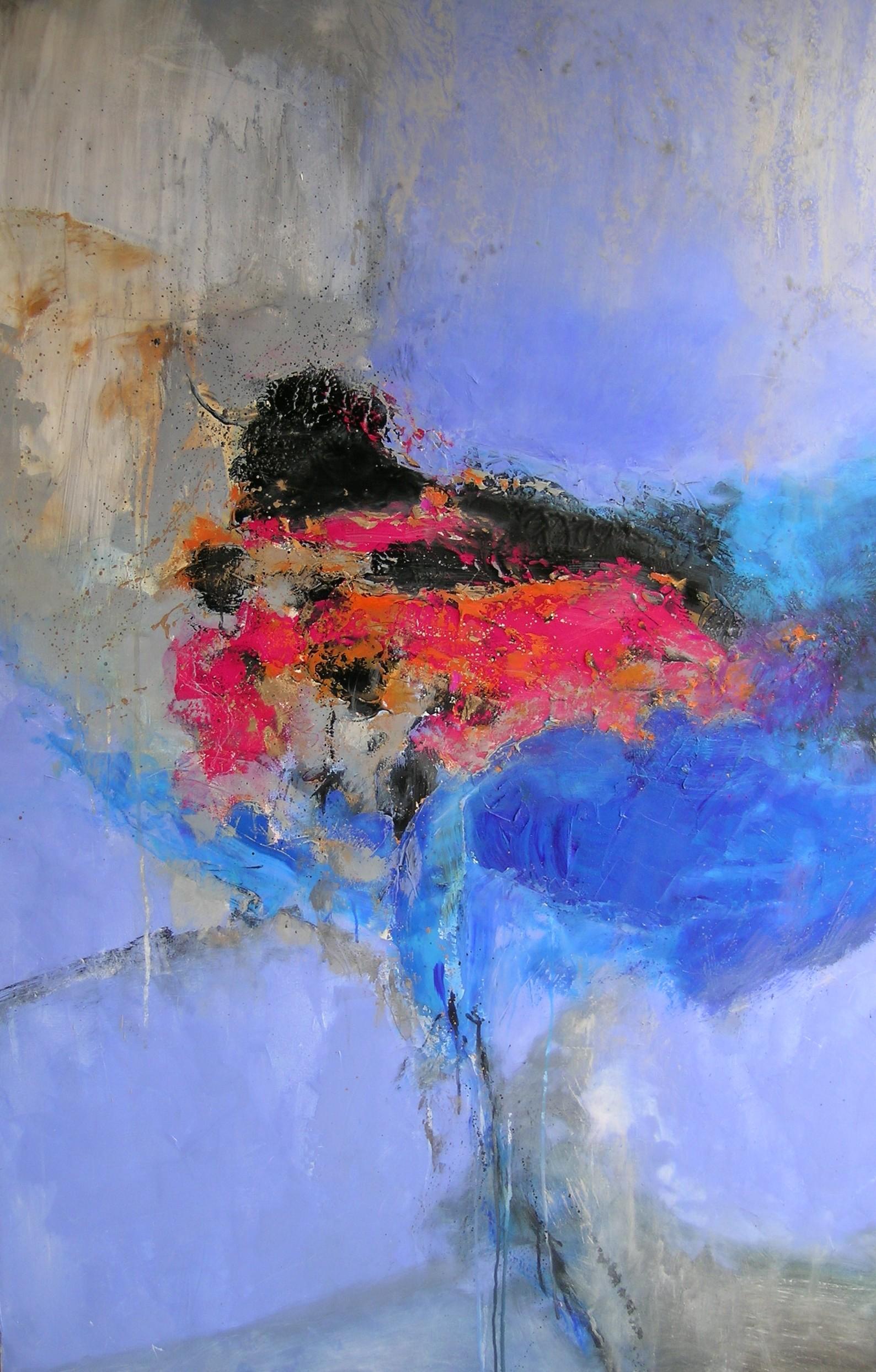 Minotaure huile sur toile 146x97 cm  collection particulière