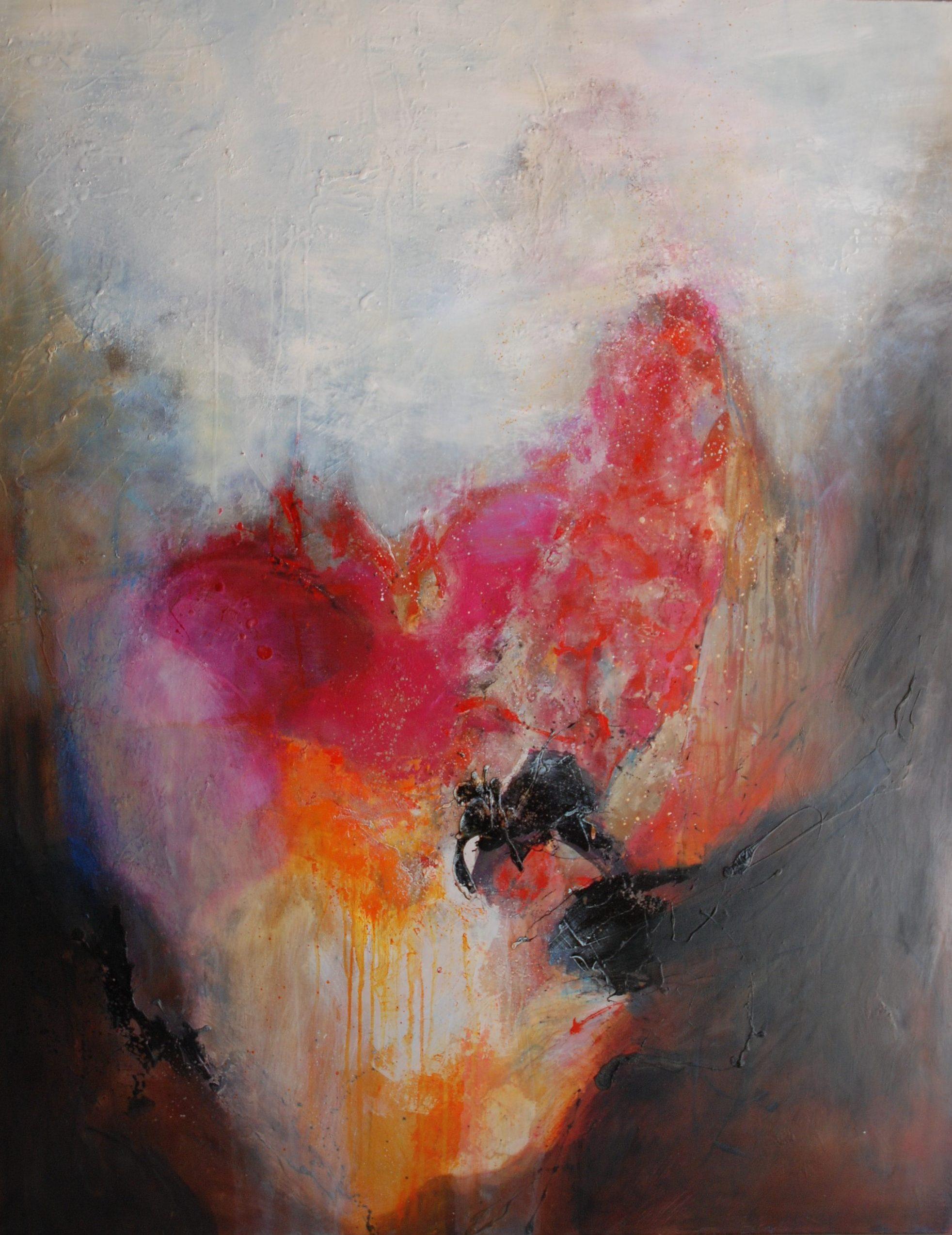 Coeur de paysage   huile 146x114cm