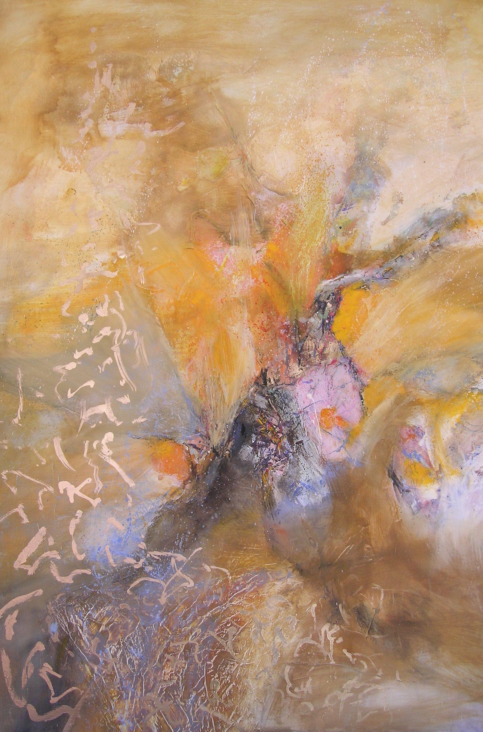 Porte dorée  huile /toile 130x89cm
