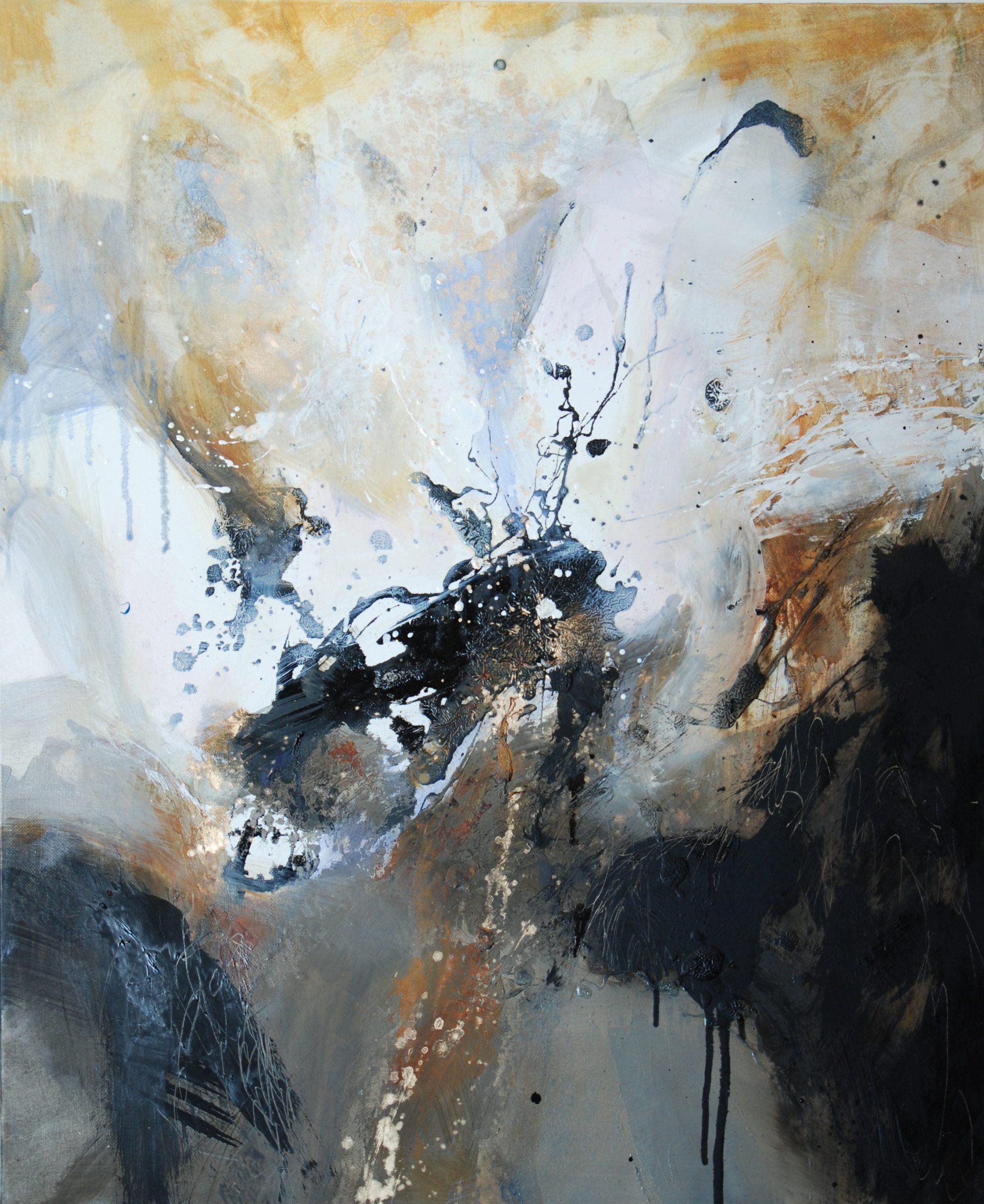 sans titre huile sur toile 92 x 73 cm collection particulière