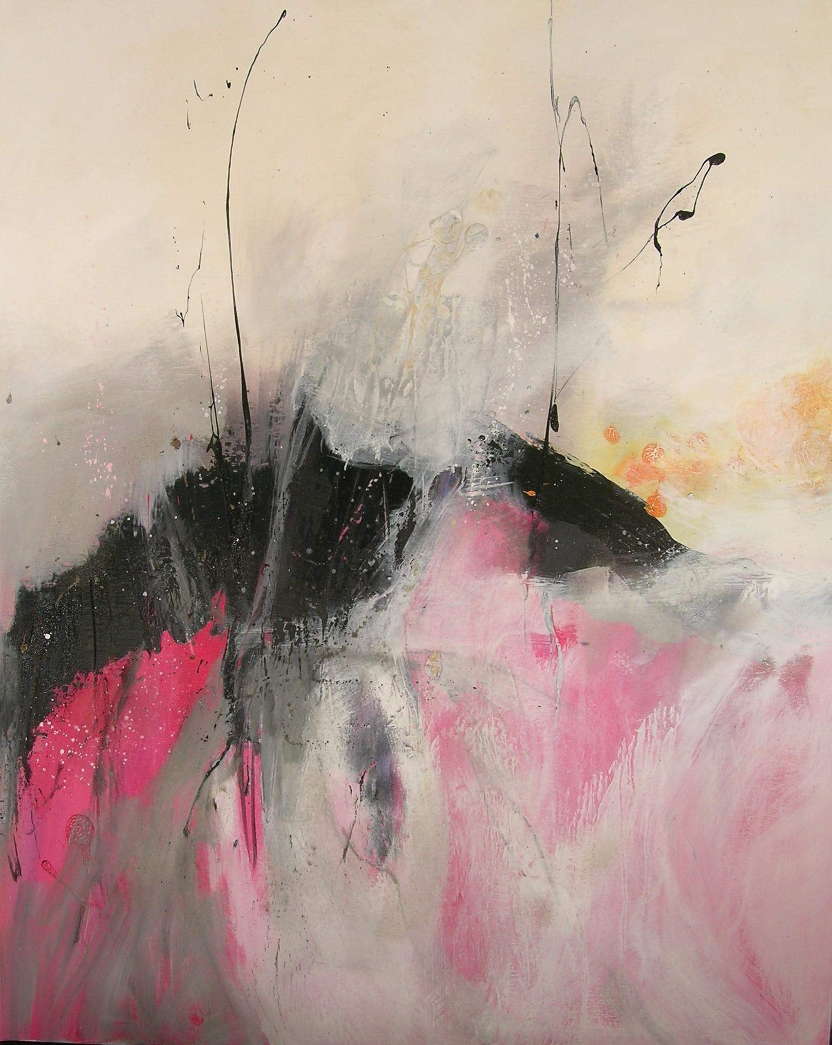 Eros huile sur toile 100x80 cm collection particulière