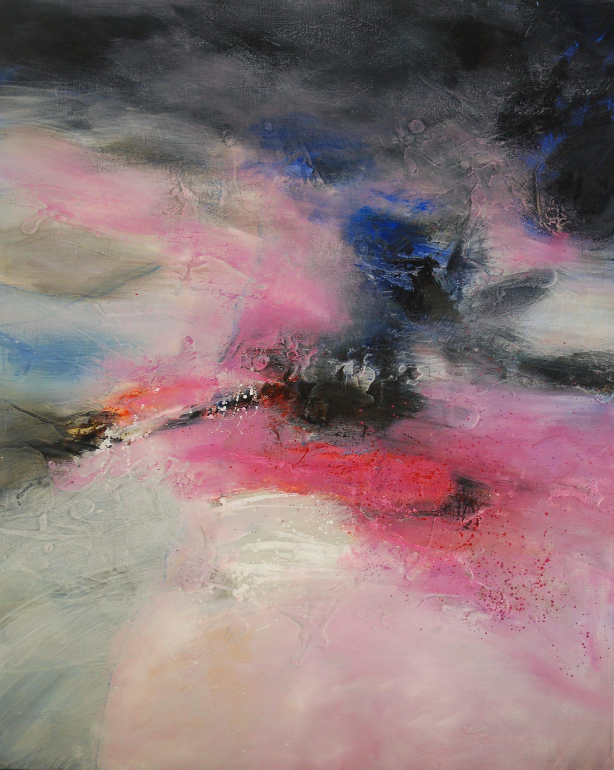Thanatos Huile sur toile  100x80cm collection particulière