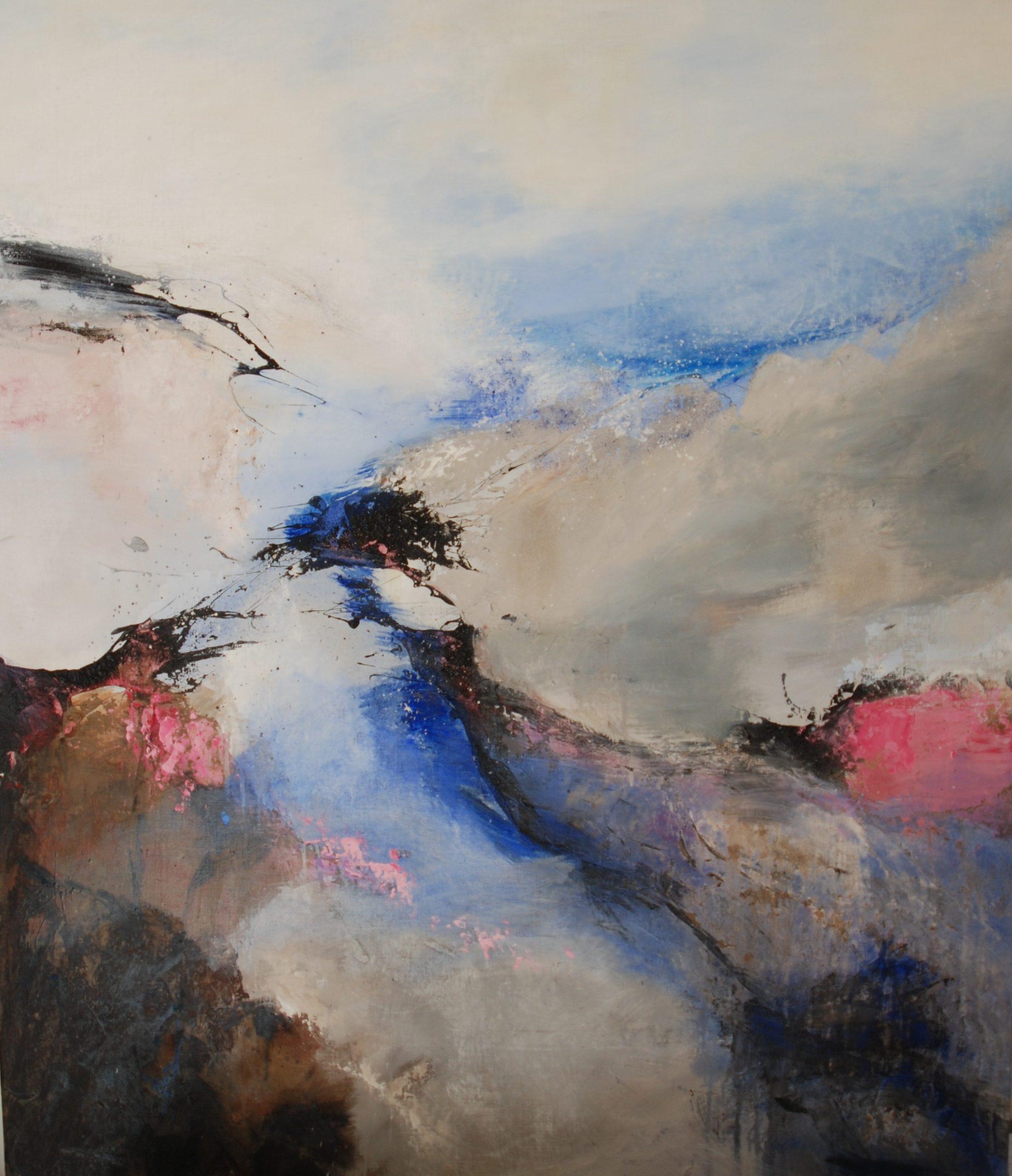 Khoreia Huile pigment 135x116 cm