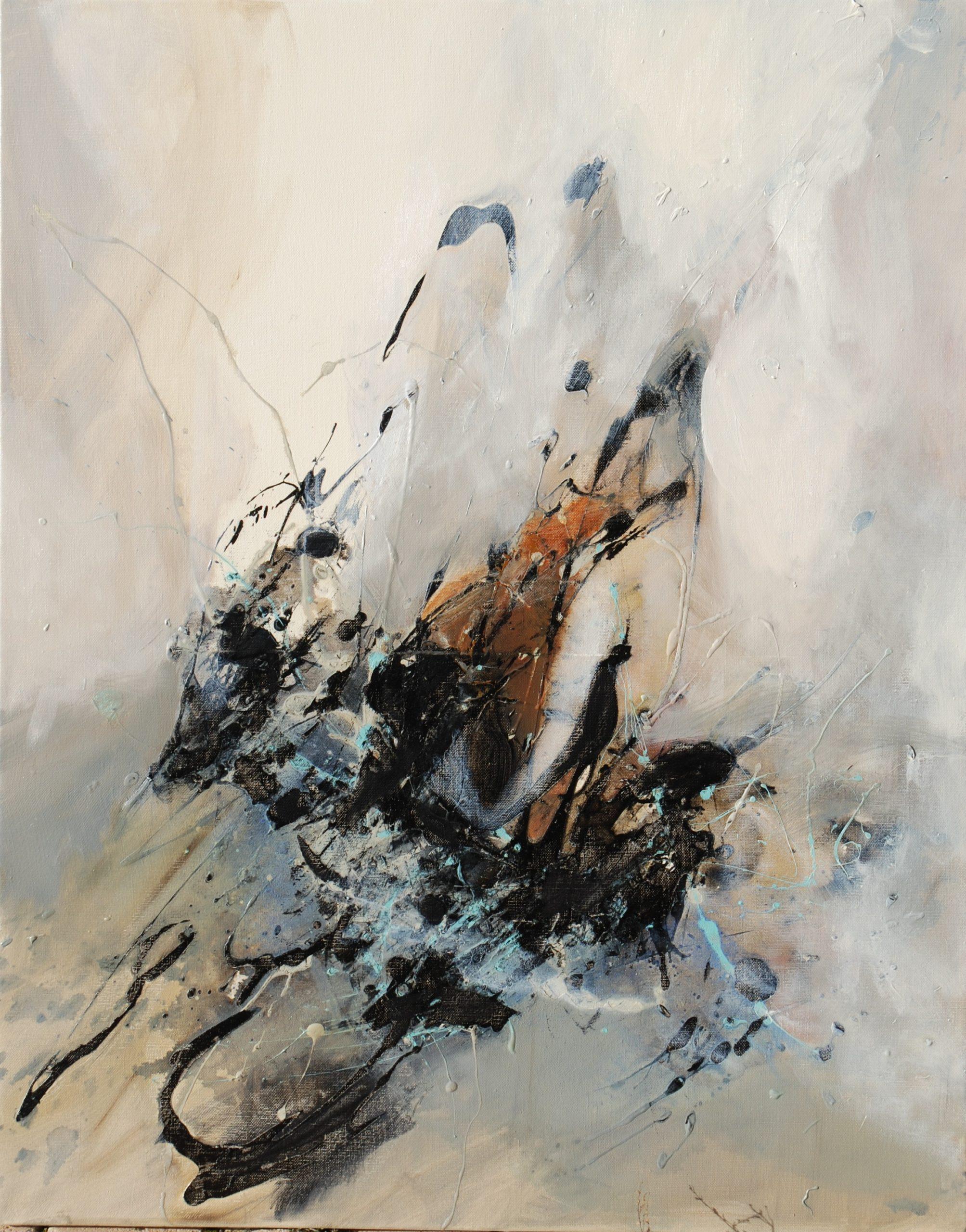 sans titre huile sur toile  92x73 cm  collection privée