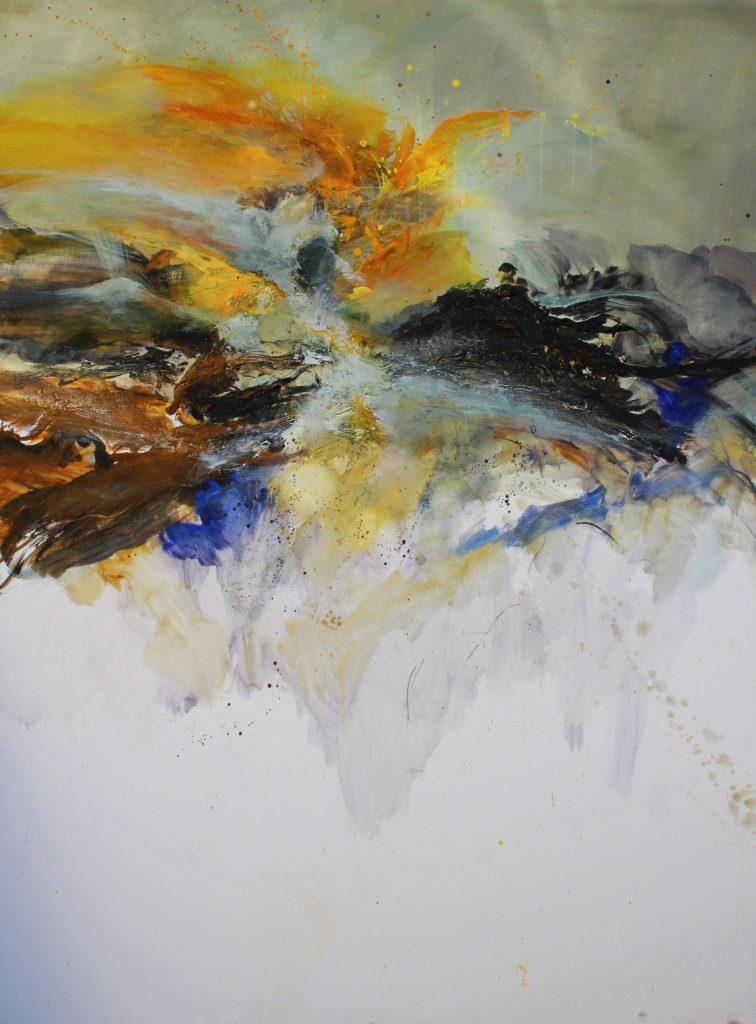 Sans titre huile sur toile 160x120 cm collection privée