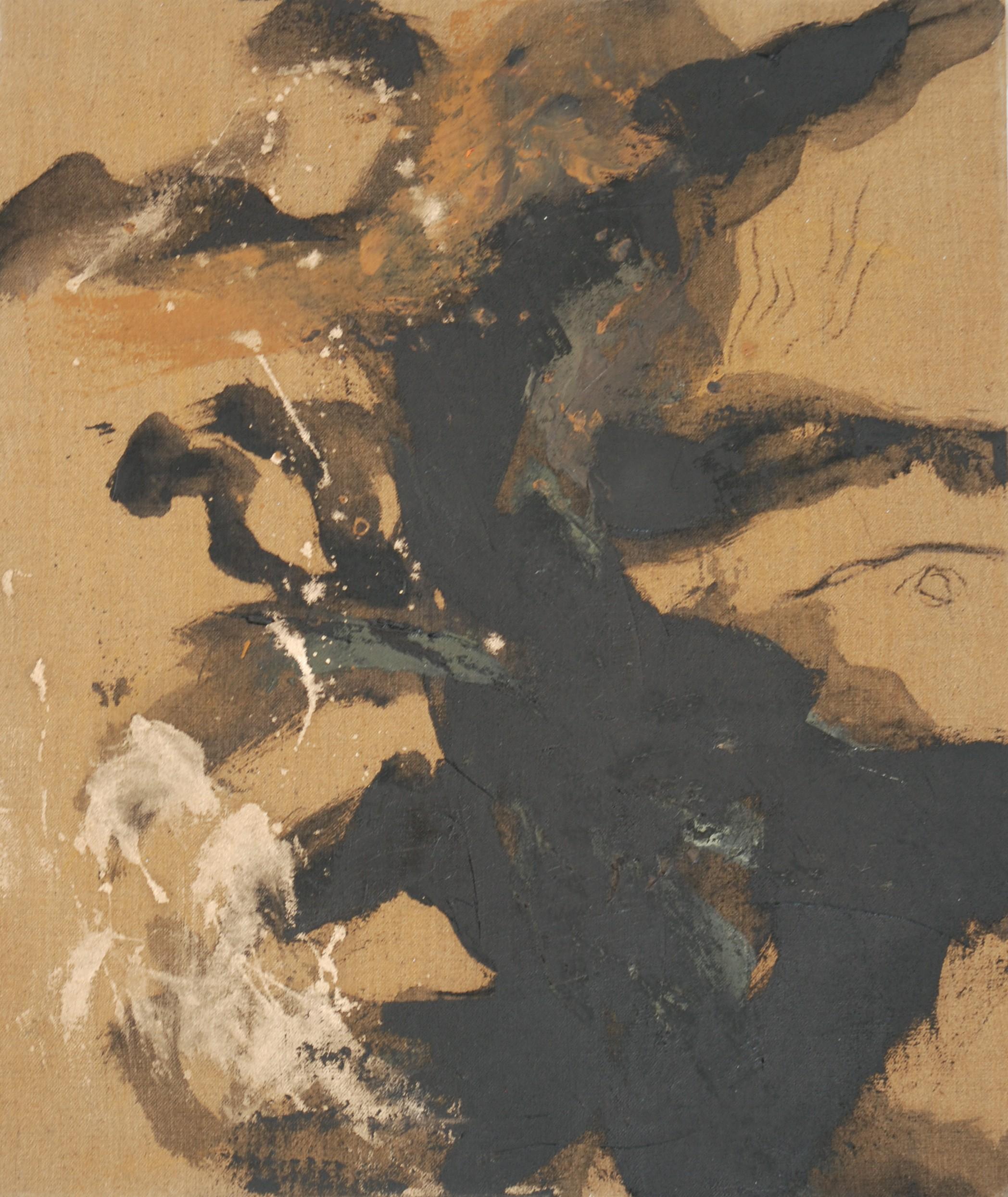 métamorphose 9 huile sur toile 65x55 cm