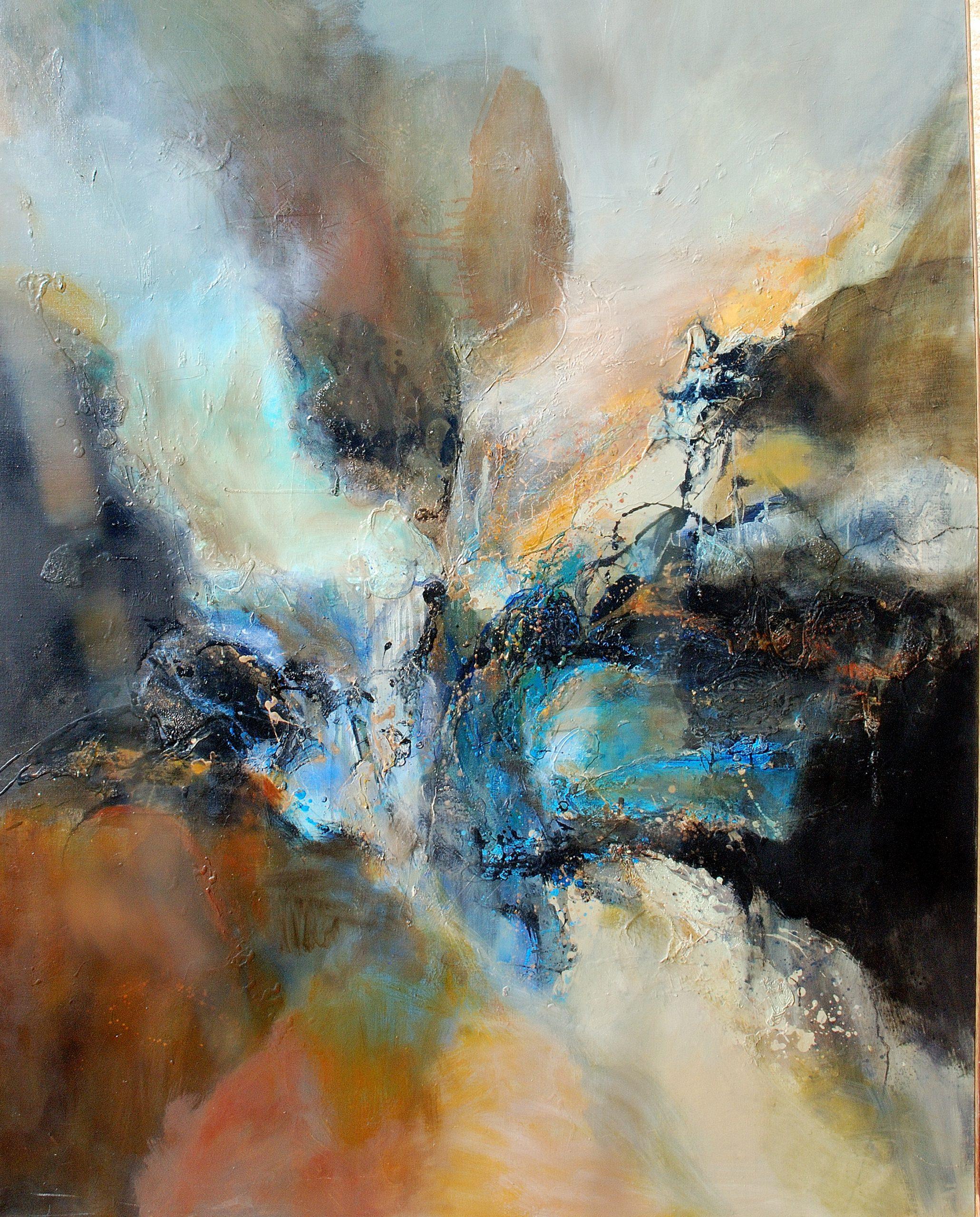 sans titre huile sur toile  162x130 cm