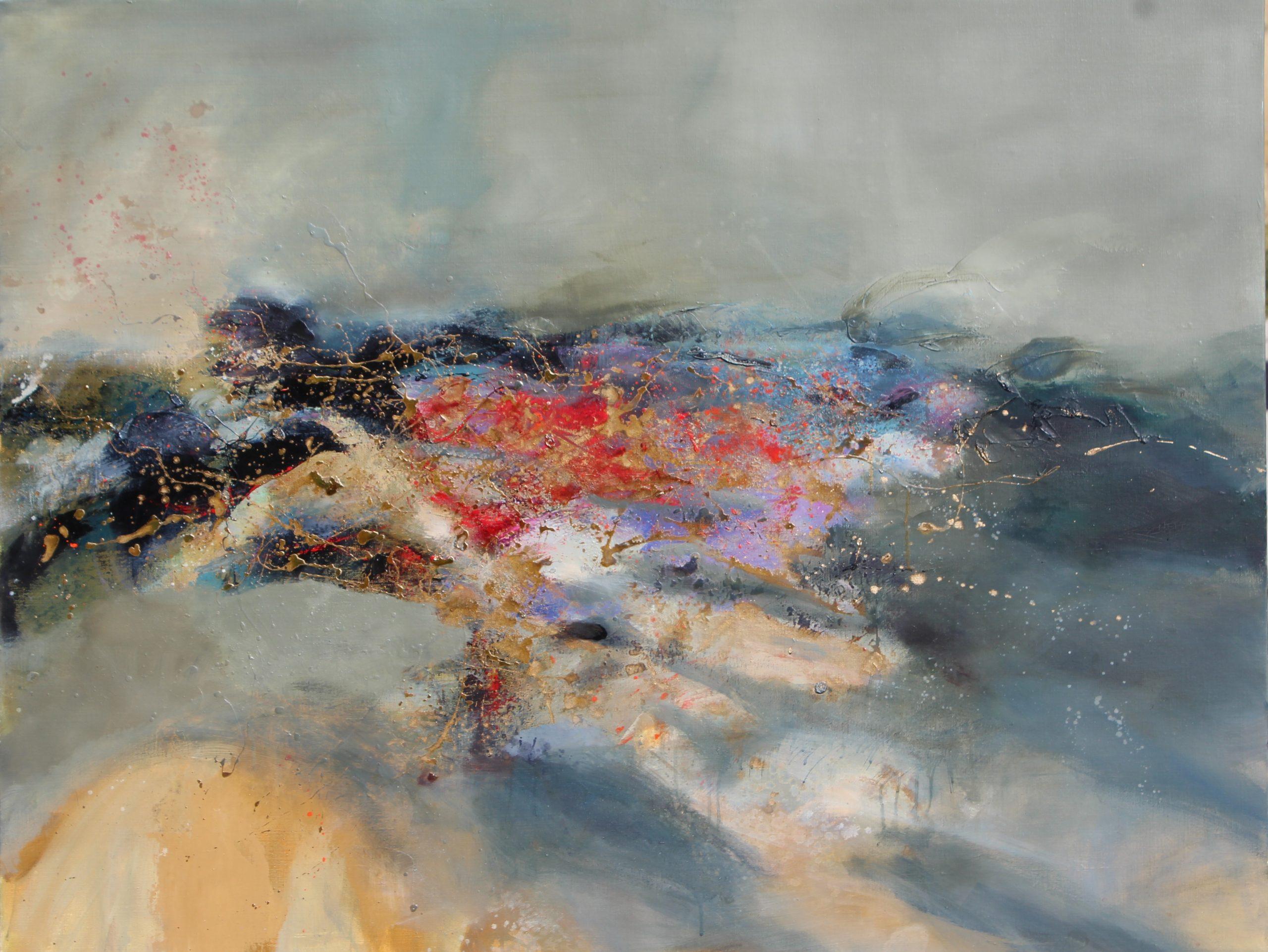sans titre huile sur toile 116 x 92cm collection particulière
