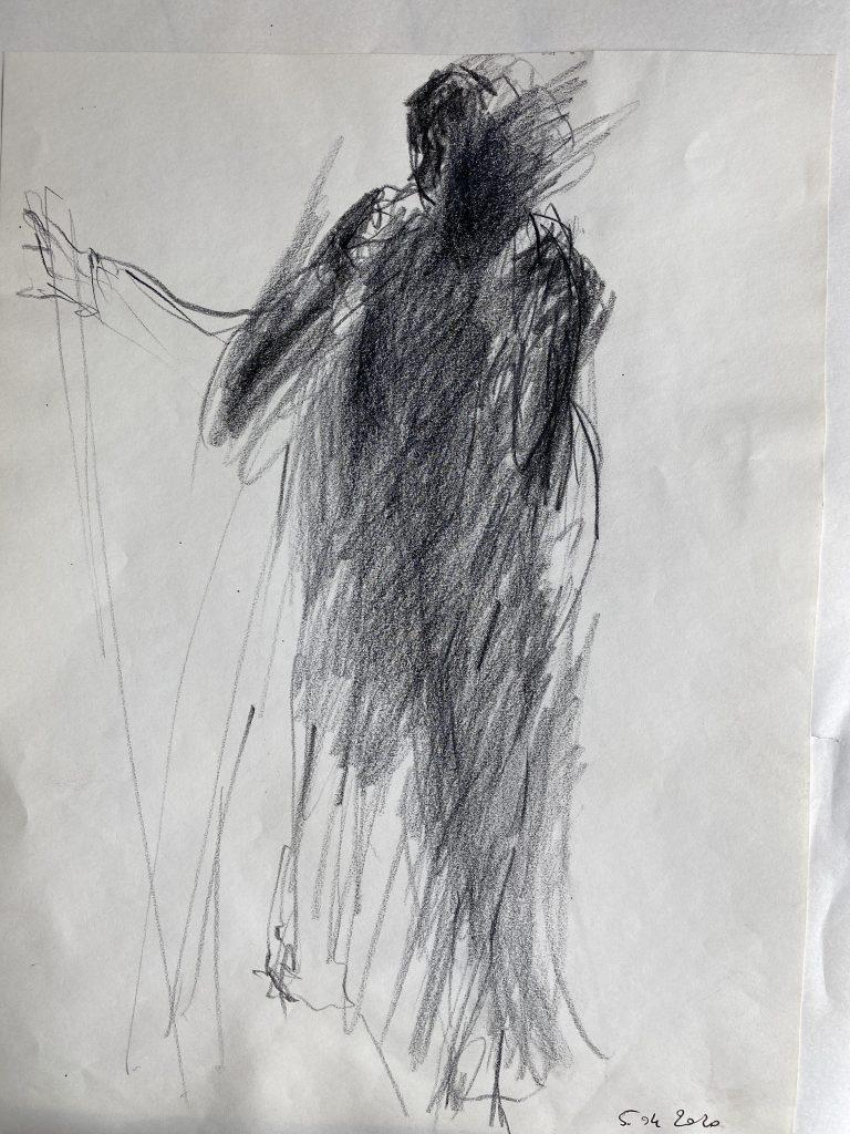 graphite sur papier
