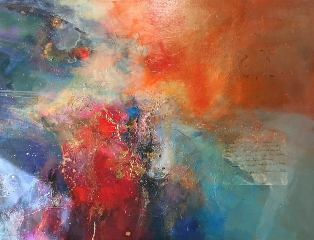 Sans titre huile sur toile  116x89 c m